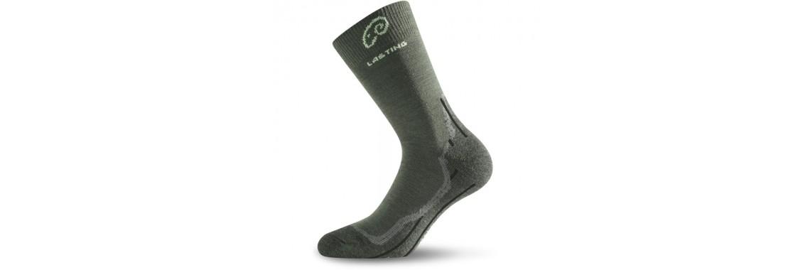 Merino Socken WHI 620 grün