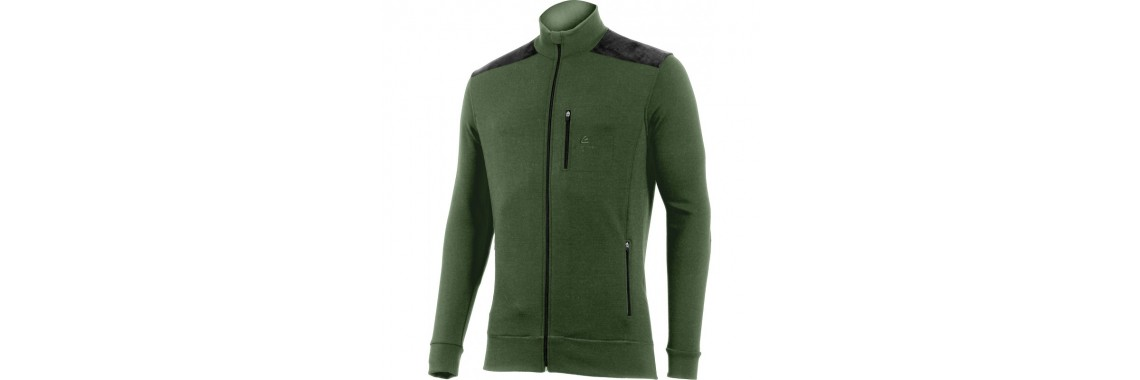 Sweatshirt HUBERT 6290 olivgrün