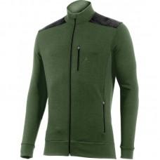 Männer Sweatshirt HUBERT 6290 olivgrün