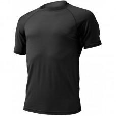 Männer Merino T-Shirt Quido 9090 schwarz