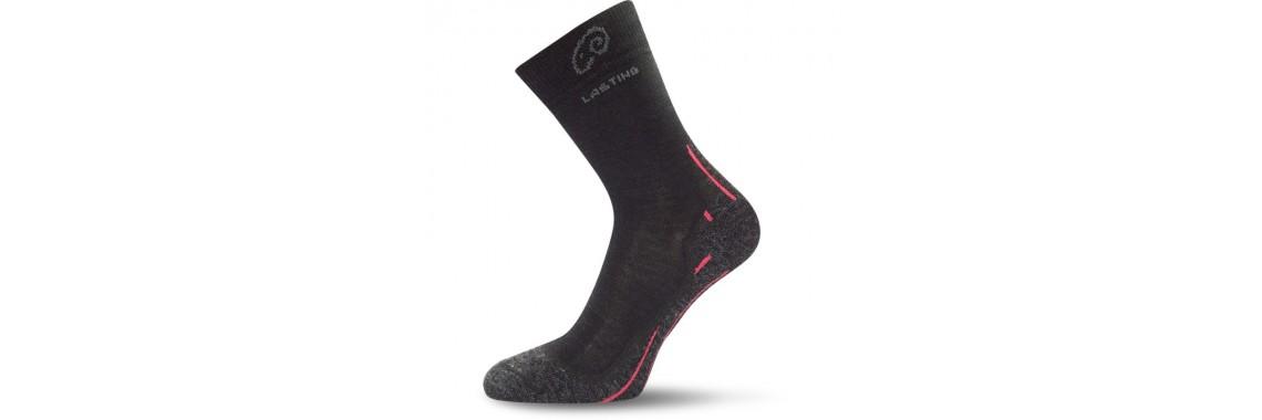 Merino Socken WHI 900 schwarz