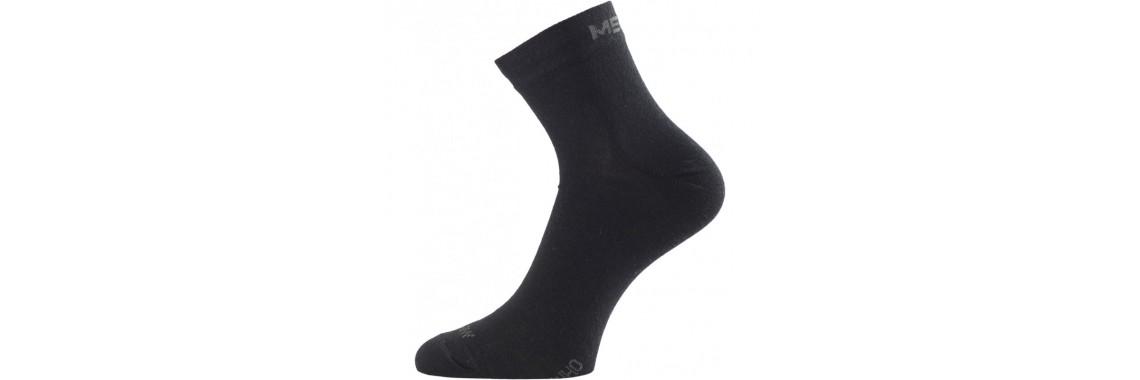 Merino Socken WHO 900 schwarz